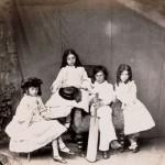Fratelli e sorelle Liddell: Edward, Edith e Lorina