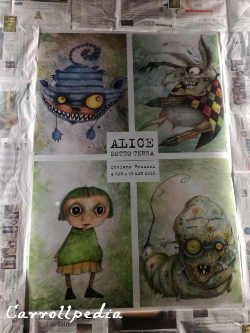 poster ALICE SOTTO TERRA